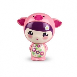 Figurine WUNZEES™ Penny le cochon