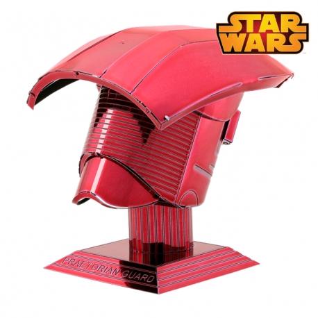 Miniature à monter en métal Star Wars Casque de GARdE PRéTORiEN d'ELiTE (h6cm)