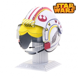 Miniature à monter en métal Star Wars Casque de LUKE SKYWALKER (h7cm)