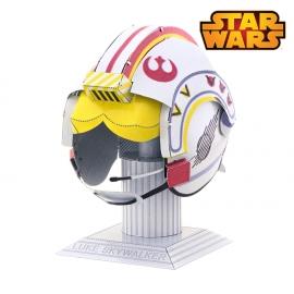 Miniature à monter en métal Star Wars Casque de LUKE SKYWALKER (h7cm)