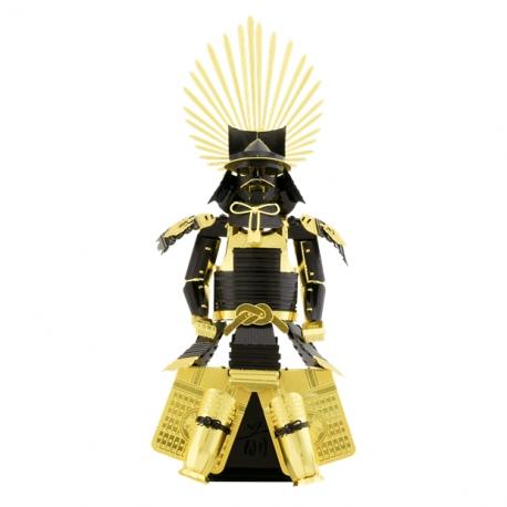 Miniature à monter en métal armure japonaise yoroi de Hideyoshi Toyotomi (h7cm)