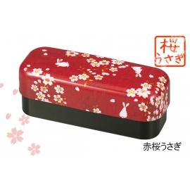 Bento KiMONO lapin sakura long rouge 510ml