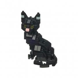 nanoblock mini ChAT NOiR (+ de 110 pièces)