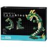 nanoblock deluxe DRAGON (Chine) (+ de 700 pièces)