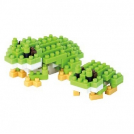 nanoblock mini GRENOUiLLES (+ de 120 pièces)