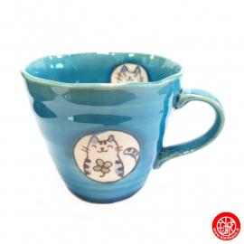 Mug MANEKi NEKO 招き猫 bleu
