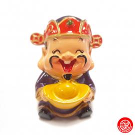 Dieu de la RiChESSE 禄 kawaii en résine peint (h6cm)