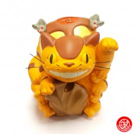 """Chatbus """"Bonheur"""" en résine - Mon voisin Totoro© (h11cm)"""