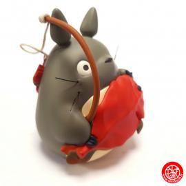 Totoro© à la pêche en résine - Mon voisin Totoro© (h11cm)