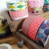 masking tape déco stripe red (stries rouges L) 15mm*10m