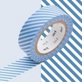 masking tape déco stripe light blue (stries bleu clair S) 15mm*10m