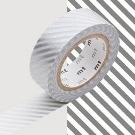 masking tape déco stripe silver (stries argentées S) 15mm*10m