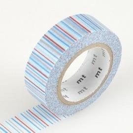 masking tape déco shima ao (traits bleu) 15mm*10m
