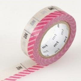 masking tape EX number pink (numéro rose) 15mm*10m