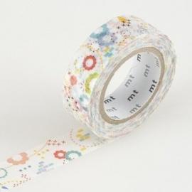 masking tape EX colorful POP (POP coloré) 15mm*10m