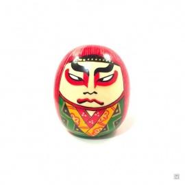 Kokeshi KABUKi DARUMA rouge