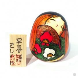 Kokeshi SOUSYUNFU (h9.5cm)