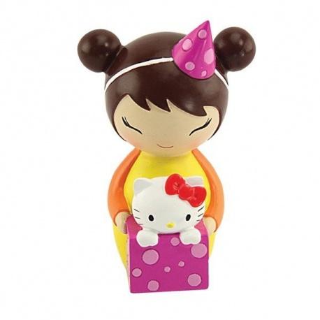 momiji doll+Hello Kitty 8cm KiPi