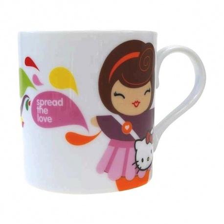 Mug momiji doll+Hello Kitty STELLA