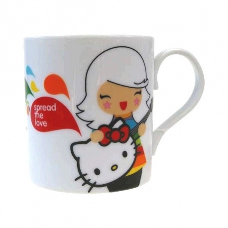 Mug momiji doll+Hello Kitty ASTRiD