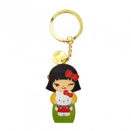 Porte-clés momiji doll+Hello Kitty AYA