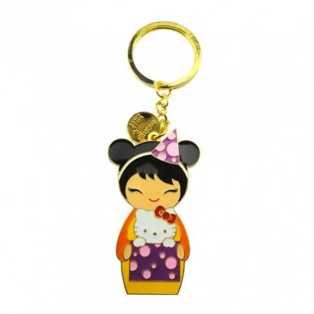Porte-clés momiji doll+Hello Kitty KiPi