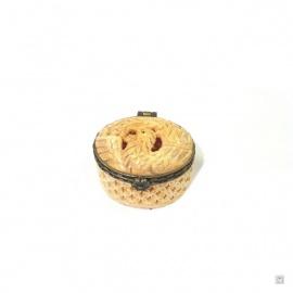 Boîte ovale PHOENiX en os de buffle