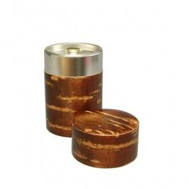 Boîte à thé japonaise (茶筒 chazutsu) KABAZAiKU écorce de cerisier (100gr)