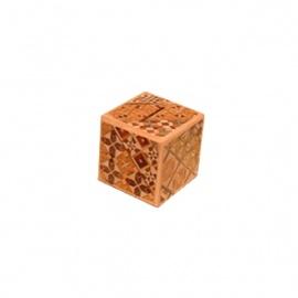 Boîte à secret (Himitsu-bako ~ ひみつ箱) 2 sun (6cm) ouverture en 2 étapes, tirelire motif Koyosegi