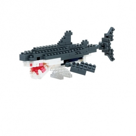 nanoblock mini GRANd REQUiN BLANC