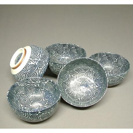 Bol à soupe TAKO en porcelaine japonaise (d16cm)