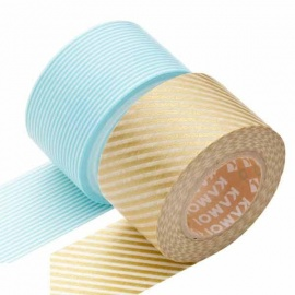 masking tape 2P WiDE stripe red x border sango (stries rouges x lignes rouges) 30mm*10m (x2)