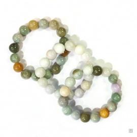 Bracelet perles en JADE 14mm