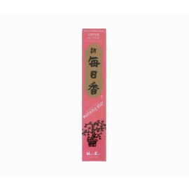 Encens japonais MORNiNG STAR lotus 12cm