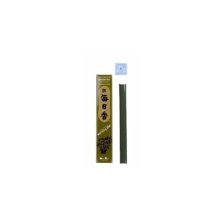 Encens japonais MORNiNG STAR thé vert 12cm