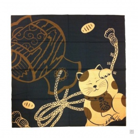 Furoshiki MANEKi NEKO (92x92cm)