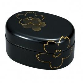 Bento SAKURA ovale noir 650ml