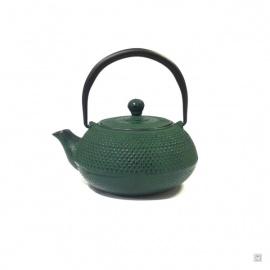 Théière en fonte chinoise ARARE 0.60L vert
