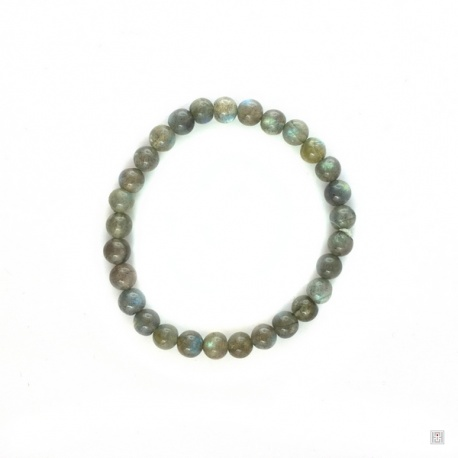 Bracelet perles en LABRADORiTE 6mm