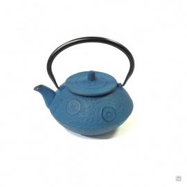 Théière OBAN en fonte japonaise (0.75L) bleu