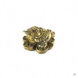 Chan'chu sur pièces en cuivre (h3.5cm)