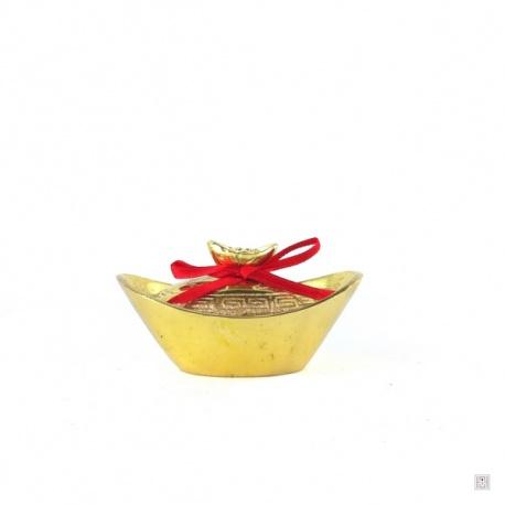 Lingot boîte en cuivre (L7.5cm)