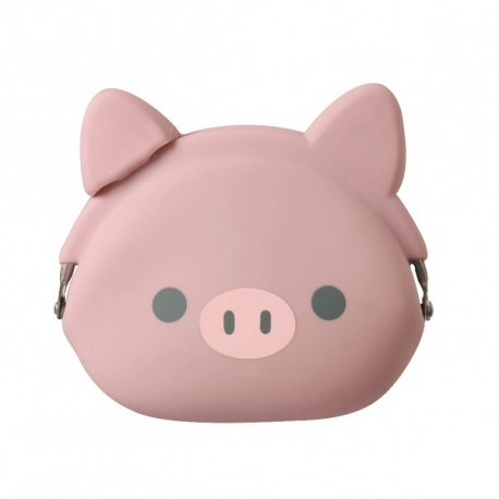 Porte-monnaie mimi POCHi Friends BOO en silicone