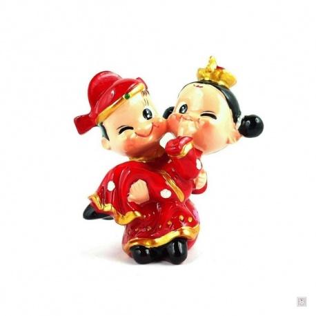 Jeunes mariés chinois CLiN D'OEiL (h6cm)