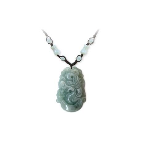 Pendentif ZODiAQUE ChiNOiS en jade aventurine (Dragon)