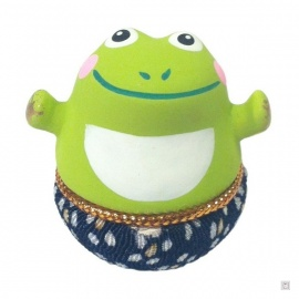 Culbuto mini GRENOUiLLE hands up (h3.5cm)