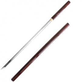 Katana forgé main ZATOiChi ROUGE 座頭市 (lame MARU) coffret en bois