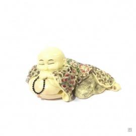 Moine endormi en ivoirine (L14cm)