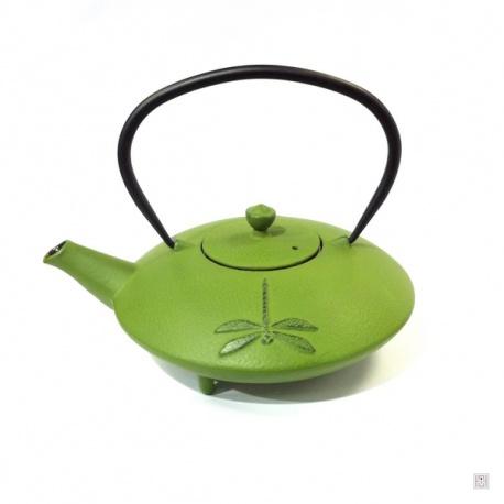 Théière FUKUJU en fonte japonaise (1L) vert tilleul